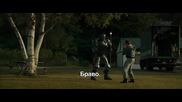 Жива стомана - Чарли учи Атом да се боксира