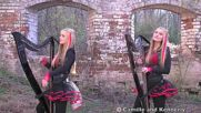Iron Maiden - Fear of the Dark Harp Twins Camille and Kennerly