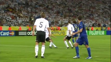 Гол на Фабио Гроссо 119 минута Германия - Италия Световно 2006 Полуфинал Hd