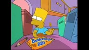 The Simpsons Butterfinger One Less Sister