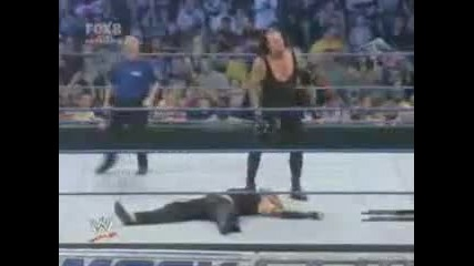 Jeff Hardy vs The Undertaker Extreme Rules part 2