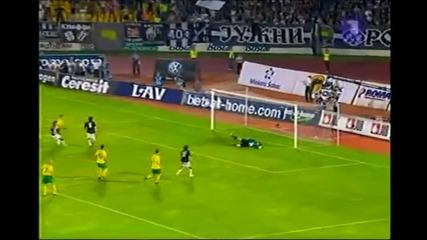 Лига Европа - Партизан 1:1 Жилина