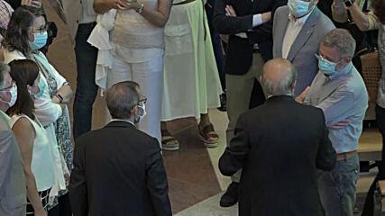 Spain: Barcelona Sagrada Familia reopens doors to health workers