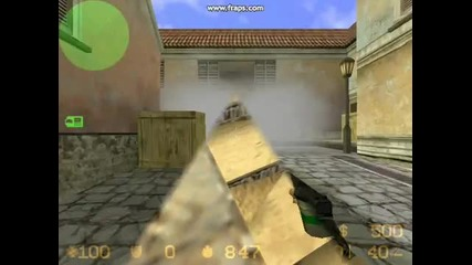 Tricks and jumps in Counter - Strike 1.6
