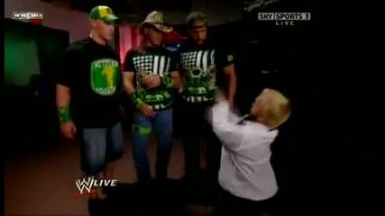 Dx , Hornswoggle And John Cena Funny Moment