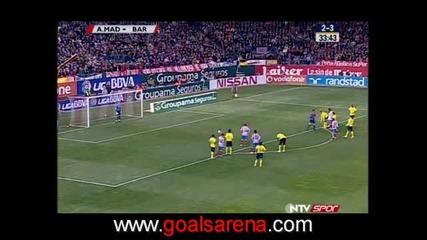 01.03 Атлетико Мадрид - Барселона 4:3 Диего Форлан Гол