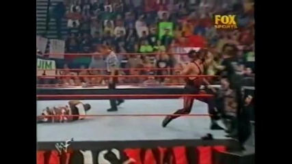 2001 Wwe Raw Is War Kane & Undertaker vs Dudley Boyz
