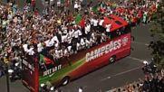 Шампионски тур пред хиляди за новите Крале на Европа