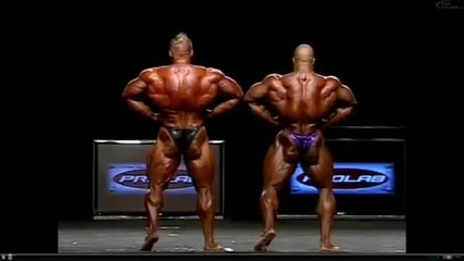 Mr Olympia 2011 - Phil Heath vs Jay Cutler