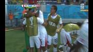 Италия 0:1 Коста Рика (бг аудио) Мондиал 2014