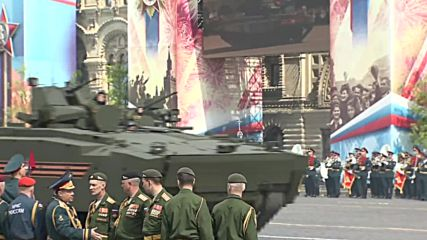 Russia: Military holds dress rehearsal for Victory Day parade