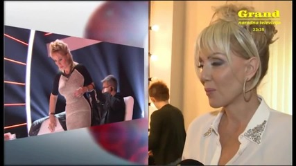 Lepa Brena - Grand News ( Grand Tv, 14.5.2015 )