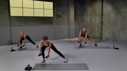Hiit workout (high Intensity Intervals Training), интензивна тренировка вкъщи- долна част