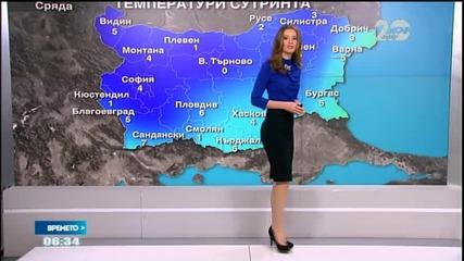 Прогноза за времето (29.10.2014 - сутрешна)