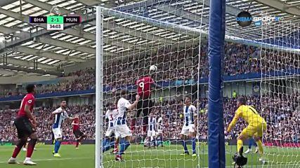 Брайтън - Манчестър Юнайтед 3:2 /репортаж/