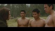 Twilight New Moon - Jacobs Transformation + Bg subs/ вижте допълнителна информация :)