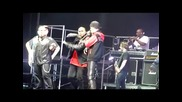 Justin Bieber рапира свой рап на Look At Me Now Мелбърн / Австралия 02.05.2011