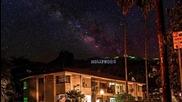 Красотата на нощното небе - timelapse