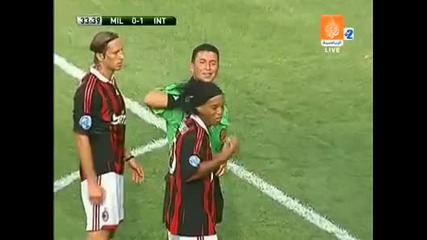 Ronaldinho Red Card Funny