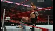 Raw 06/07/09 - John Cena vs. Triple H 1/2