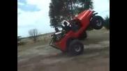 Jeep mit zu viel Power