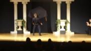 Уникално Zeibekiko Greek Table Dance - Aldo Rapos