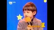 Дете се подиграва с Бате Енчо ... :)