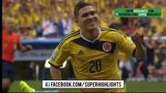 Колумбия 2 – 1 Кот д' Ивоар // F I F A World Cup 2014 // Colombia 2 – 1 Ivory Coast // Highlights