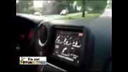 Така се глобява шофьор на Nissan Gt-r с 308 км/ч!