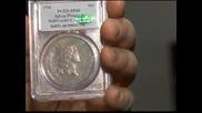 Продадоха сребърен долар от 1974 г. за рекордните 10 милиона долара