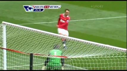 Манчестър Юнайтед 2 - 0 У Б А - Нани