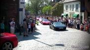 Събор на Ферари в Horsham Piazza Италия