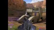 Halo 2 Терор със танкове!