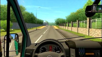 City Car Driving-mercedes Sprinter 324