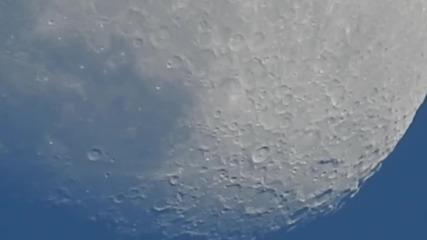 Мощен обектив на фотоапарат достига луната *световен Рекорд*