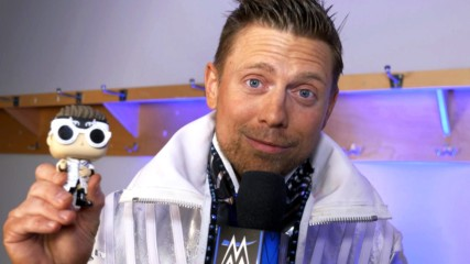 "The Miz interviews his first-ever Funko Pop! on ""Miz TV"""