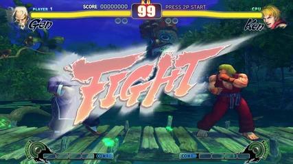 Street Fighter 4: Gen vs Ken from Soulkeeper
