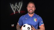 Wwe Superstars and Divas celebrate the upcoming World Cup in Brazil