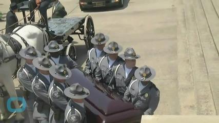 South Carolina Honors Victims and Hides Confederate Flag
