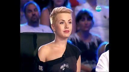 Участничка изпълни страхотно песента One Night Only - X Factor Bulgaria