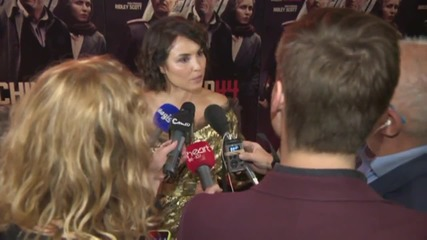 Tom Hardy And Noomi Rapace Together At 'Child 44' Premiere