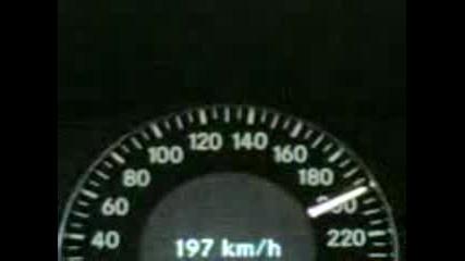 Mercedes Clk 270 (2.7) Cdi 0 - 200 Kmh