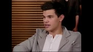 New Brazil Interview with Kristen Stewart and Taylor Lautner Metr pole