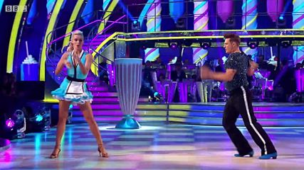 Lee Ryan and Nadiya Bychkova Jive to Blue Suede Shoes by Elvis