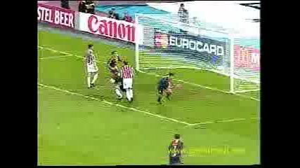 Juventus - Galatasaray (hakan Sukur) 0 - 1