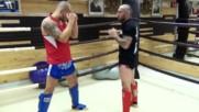 Основни удари с лакти в муайтай с Веселин Веселинов