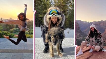 Нина Добрев с уникално видео от детството си за ЧРД! Актрисата празнува 31 г. за втора година