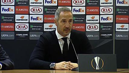 Italy: Lazio coach expresses 'shame' over Eintracht Frankfurt defeat