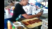 Най-добрият готвач на хамбургери в Сингапур