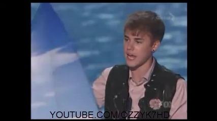 Justin Bieber взима поредна награда 08.08.11